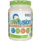 SAN Nutrition RawFusion Plant Protein Powder, Vanilla Bean, 2 Pounds