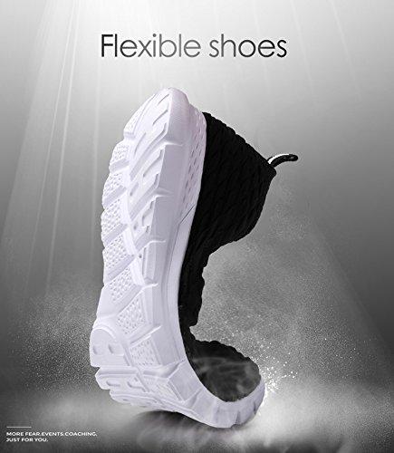 Sanbang Herensneakers Voor Heren Atletische Casual Instappers Voor Plateau-bootschoenen Voor Wandelen In Hardlopen Wit Rijden