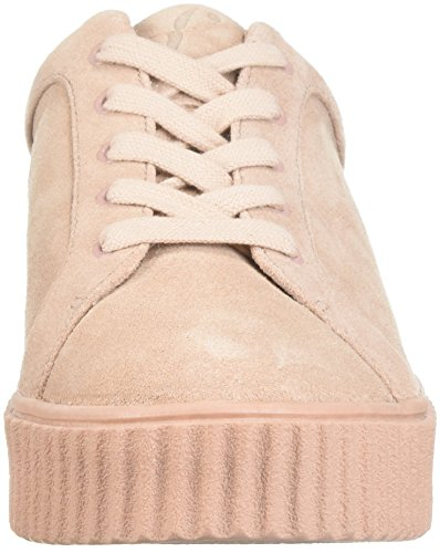 De Fix Womens Tanner Creeper Fashion Sneaker Petal Blush