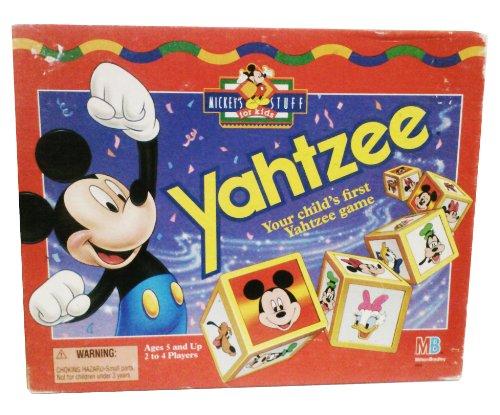mickey mouse yahtzee
