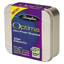Swingline Optima High Capacity Staples, for 60/70 Sheets staplers, 3/8-Inch Leg Length, 125 per Strip, 2500 per Box (S7035550) by Swingline