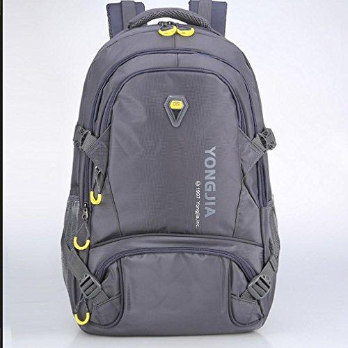 BUSL bolso que sube al aire libre los hombres y las mujeres del bolso de hombro impermeable transpirable viajes de ocio montar la mochila . days blue gray