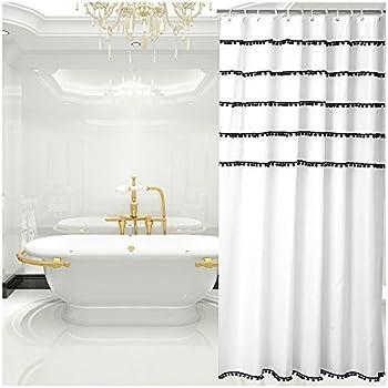 50OFF SAM HEDAYA Wellington Shower Curtain X Long Blue