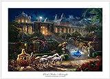 (US) Ceaco Disney Dreams Collection - Cinderella - Clock Strikes Midnight Puzzle (750 Piece)