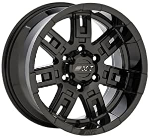 "Mickey Thompson SideBiter Wheel with Gloss Black Finish (15x10""/5x4.5mm)"
