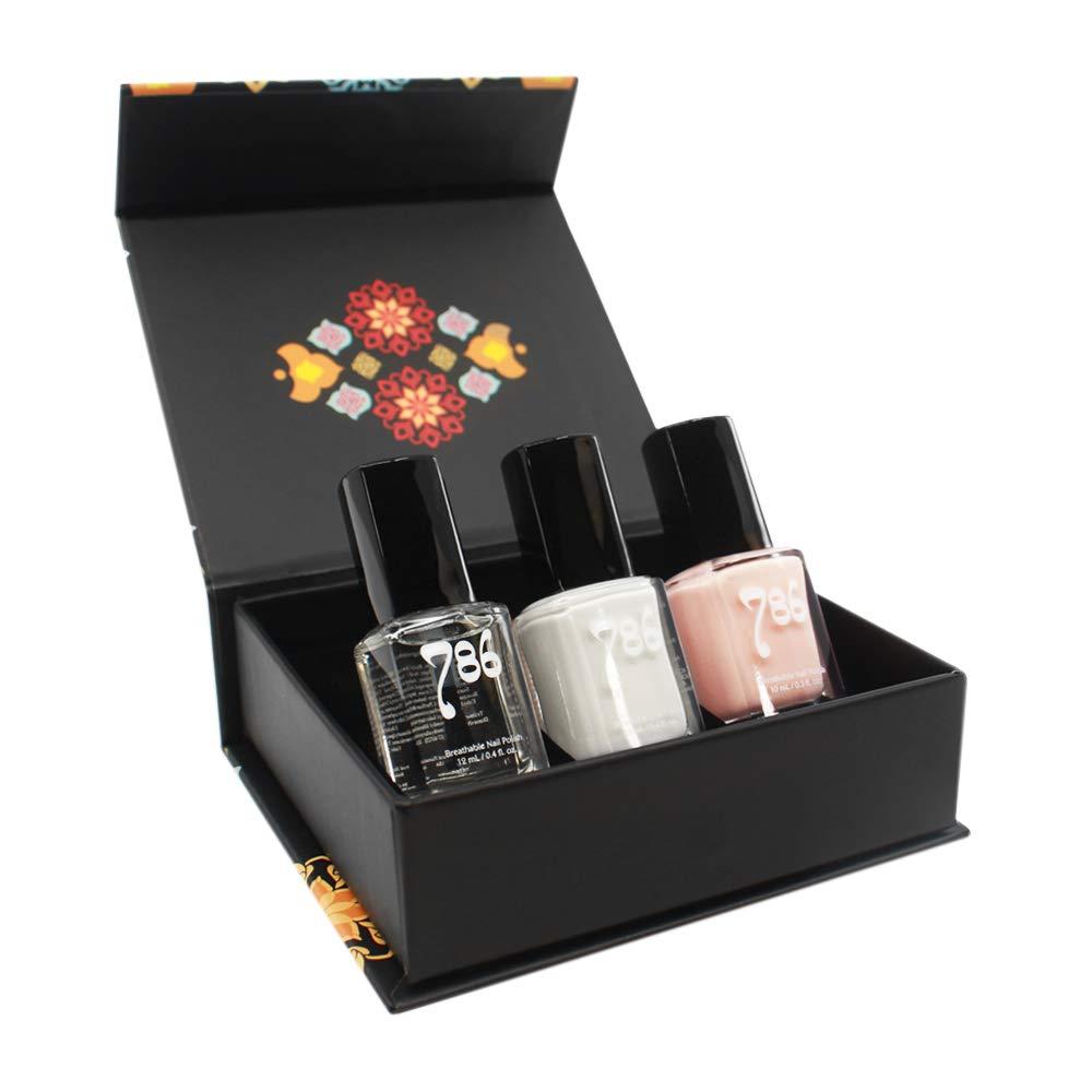 786 Cosmetics French Manicure Nail Polish Set - 3 Nail Polishes