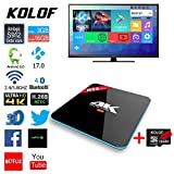 KOLOF H96 PRO 3G Amlogic S912 OTT TV Box RAM 3G ROM 16G Android 6.0 KODI 17.0 Octa Core Bluetooth 4.0 Streaming Media Player with TF Card