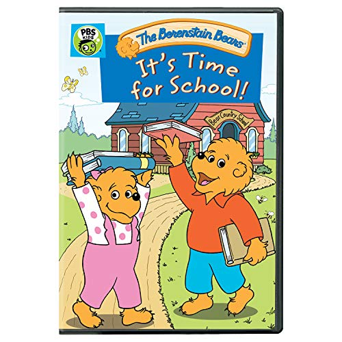 Berenstain Bears: It's Time for School! DVD (5 Bears)