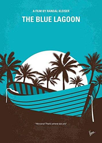 Imagekind Wall Art Print entitled No871 My Blue Lagoon Minim