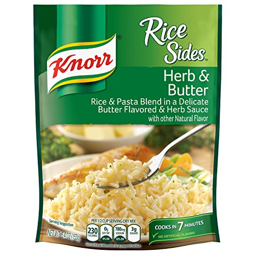 Rice Side Dishes (Knorr Rice Sides Rice Side Dish, Herb & Butter 5.4 oz)