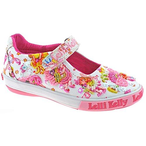 Shoes Kelly 8 ba02 Lelli Lk5054 White 26 Dolly uk Pollie Fantasy xv0PPW