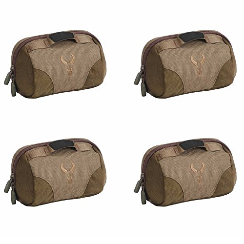 Badlands Tactical Everything Pocket for Small Hunting or Tactical Accessories (Serengeti Tan) 4-Pack by Badlands