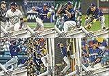 2017 Topps Series 1 & 2 Milwaukee Brewers Team Set 23 Cards Ryan Braun Orlando Arcia
