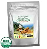 Organic Ceylon Cinnamon Powder, 8.8 oz, True Cinnamon from Ceylon, Ground Fresh Premium Grade w/ E-Book