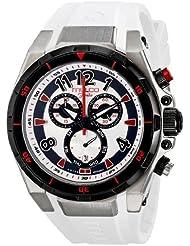MULCO Unisex MW1-81197-015 Analog Display Swiss Quartz White Watch