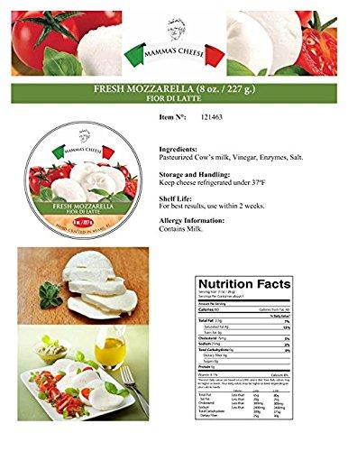 Mozzarella Fior Di Latte - 6 X 8 Oz. (1 Case)