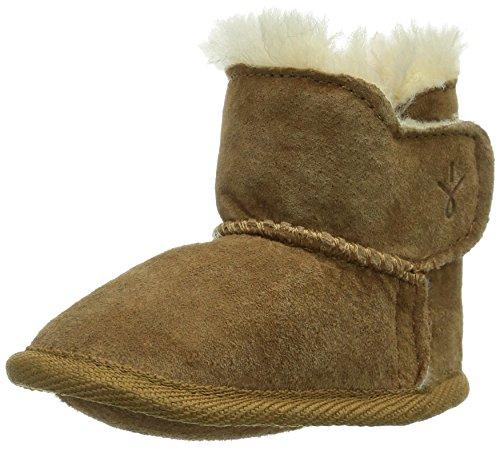 Emu Baby Bootie B10310 - Zapatos para bebé de ante para bebé Beige (Beige (Chestnut))