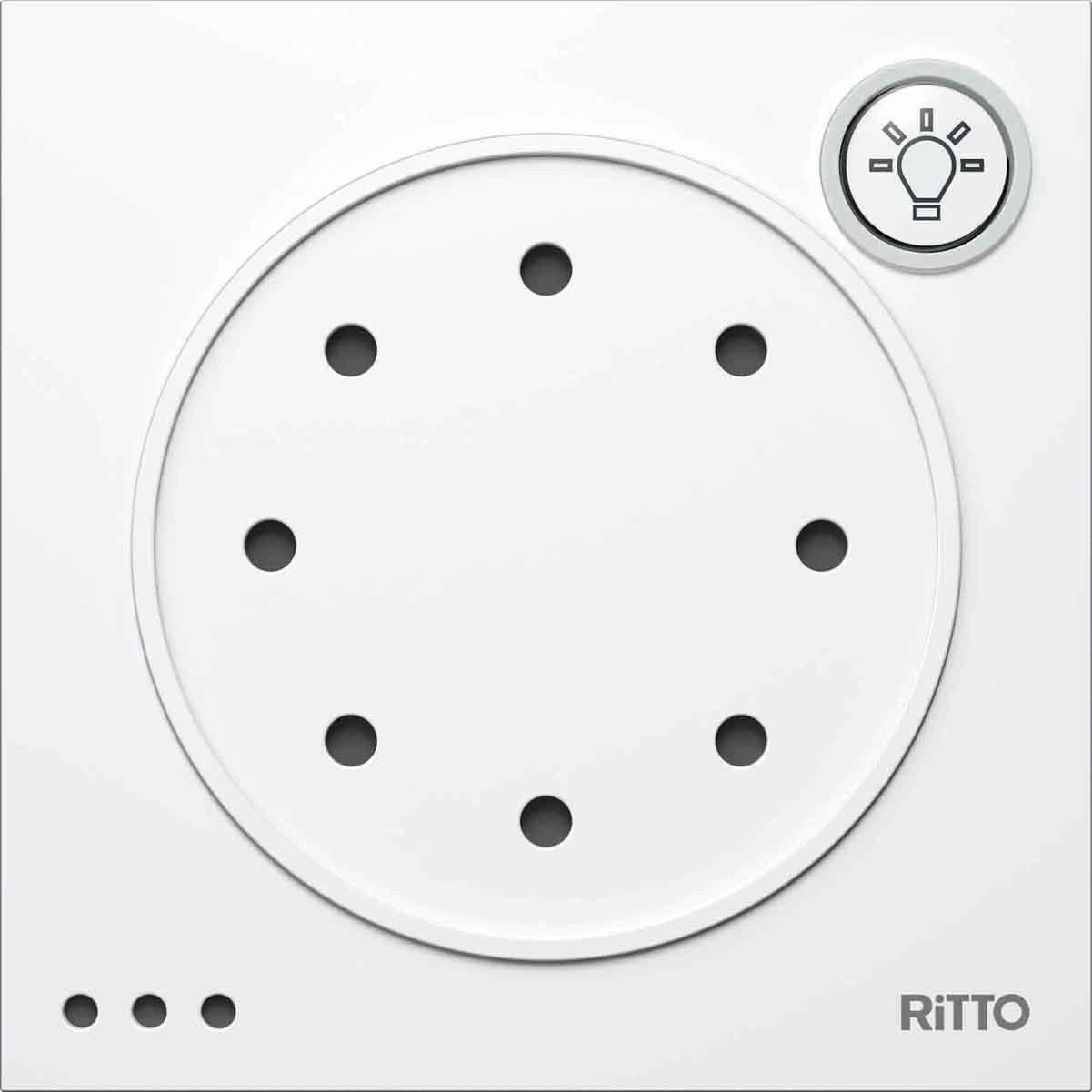 RITTO Portier Tuersprechmodul, weiß , 1876070 4972096