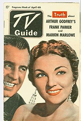 1952 tv guide april 11 cv: baseball (pee wee reese), art: joe.