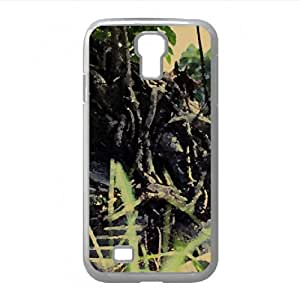 Bonsai Tree Watercolor style Cover Samsung Galaxy S4 I9500 Case (Forests Watercolor style Cover Samsung Galaxy S4 I9500 Case)