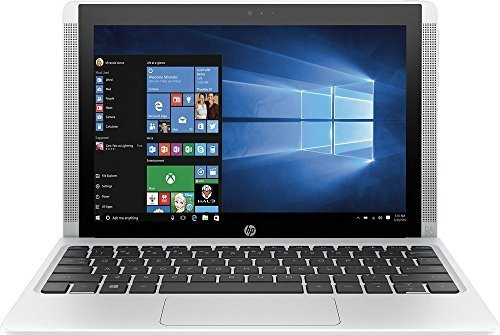 2018 Newest HP Premium Pavilion x2 Detachable 2-in-1 Laptop PC 10.1 Inch HD IPS Touchscreen Intel Quad-Core Atom x5-Z8300 2GB RAM 32GB eMMC SSD 802.11ac Wifi Bluetooth Windows - Tablet White And Hp In Laptop 2 1