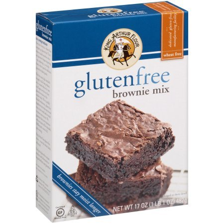 PACK OF - 8 King Arthur Flour Gluten Free Brownie Mix 17 oz. Box by Great Value (Image #2)