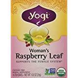 Yogi Teas Tea Woman Rspbry Leaf Org