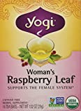 Yogi Teas Tea Woman Rspbry Leaf Org 16 Tea Bags (Packaging May Vary)