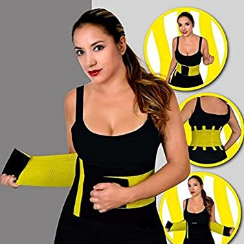 83313b7cb9a Buy ShopAIS Hot Belt Power Waist Corsets Latex trainer Cincher Body Shaper  Fast Weight Loss Girdle Online at Low Prices in India - Amazon.in