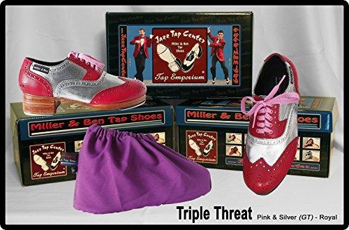 Standard Sizes Miller /& Ben Tap Shoes; Triple Threat; All Black