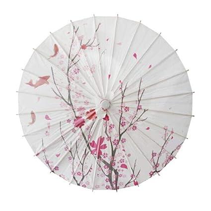 Amazon.com: Sombrilla hecha a mano estilo chino/japonés de ...