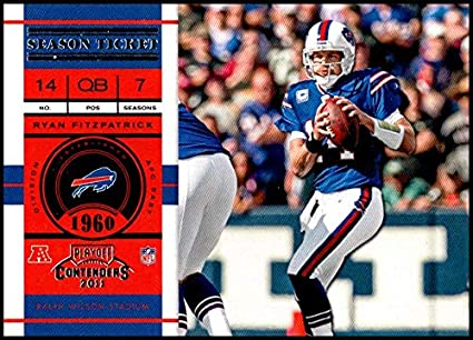 2011 Playoff Contenders Season Tickets  2 Ryan Fitzpatrick NM-MT Buffalo  Bills Official NFL 2c59a4409