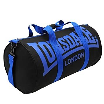 Amazon.com   Lonsdale Barrel Bag Different Styles of Colors (black ... 7cd31905c1ad6