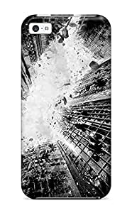 Durable Defender Case For Iphone 5c Tpu Cover(the Dark Knight Rises 75)