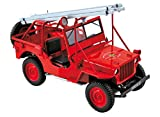 1988 Fire Department Jeep Vehicle 1/18 by Norev 189012
