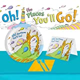 Dr. Seuss Oh The Places Youll Go Ultimate Graduation Experience 48 Guest Party Supplies Pack
