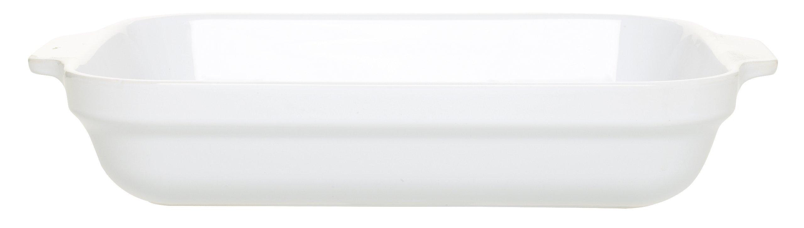 Emile Henry 13-by-10-Inch Lasagna Baker, White