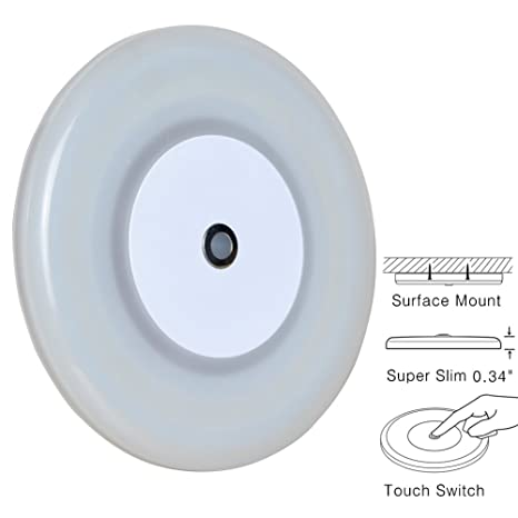 Amazon rv boat dome light 12 volt led ceiling light inbuilt rv boat dome light 12 volt led ceiling light inbuilt touch dimmer switch for camper trailer mozeypictures Choice Image