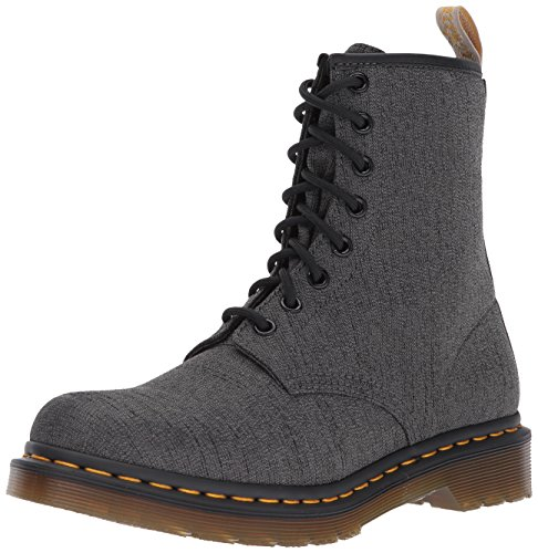 Castel Dr Fashion Vegan Grey Gunmetal Black Boot Martens Women's t4qpF