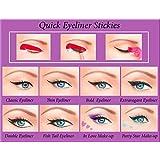 ORIGINAL Quick Eyeliner Stickies Stencils Trucco Perfetto Ochcio 80 pcs Spedizione da Amazon