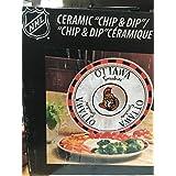 Memory Company NHL-OSE-588 Ottawa Senators Game Day 2 Chip & Dip, One Size, Multi Color