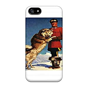 High Quality Abrahamcc Mountie Skin Case Cover Specially Designed For Iphone - 5/5s