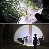 Skywolfeye LED 2000 Lumen 18650 Flashlight with