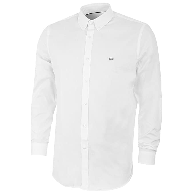 40cbf9a4e Lacoste Men s Ch8766-00 Long Sleeve Casual Shirt  Amazon.co.uk  Clothing