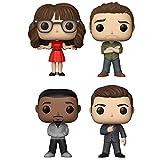 Funko Pop! TV: New Girl Collectible Vinyl Figures, 3.75'' (Set of 4)
