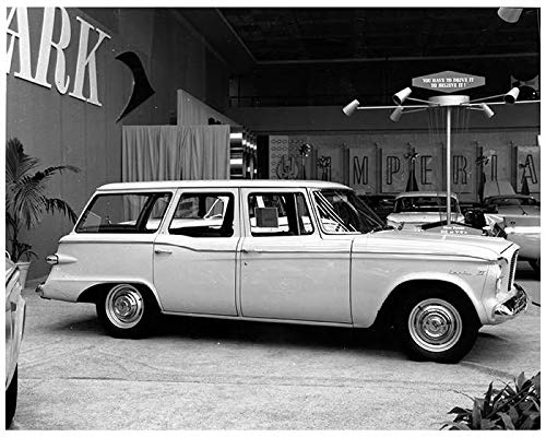 1960 Studebaker Lark VI Wagon at Auto Show Factory Photo