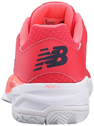 New Balance Women's 896v1 Tennis Shoe, Bright Cherry/Guava, 10.5 B US