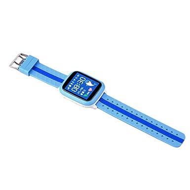 Los niños reloj inteligente reloj inteligente impermeable y antigolpes DS18 GPS WIFI GPS Localizador Rastreador NIÑOS
