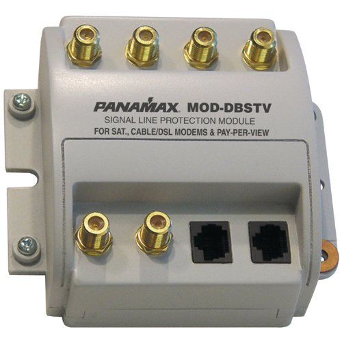 Outdoor Speaker Signal Line Protection - Panamax Premium Signal Line Protection Module MOD-DBSTV - surge suppressor ( MOD-DBSTV ) (Discontinued by Manufacturer)