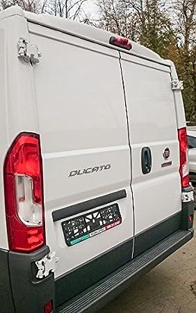 Cámara de visión trasera integrada en 3ª luz de freno para Fiat Ducato 250, Citroën Jumper, Peugeot Boxer a partir de 2011: Amazon.es: Coche y moto